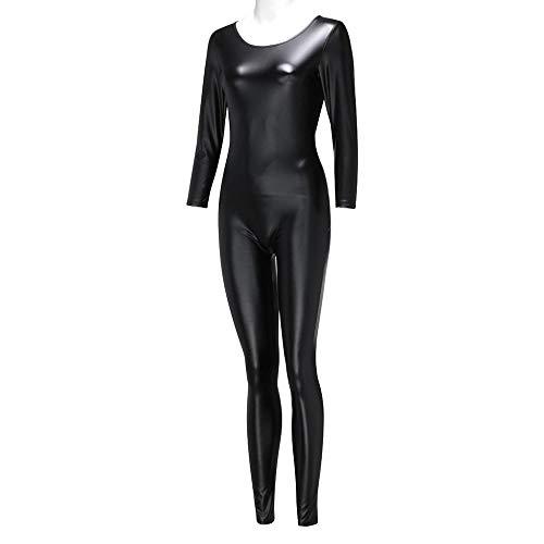 BAKND Korsetten & bustiers voor dames dames dames dames aantrekkelijk pak spiegel leer kat meisjes unisex motorkleding party kostuum