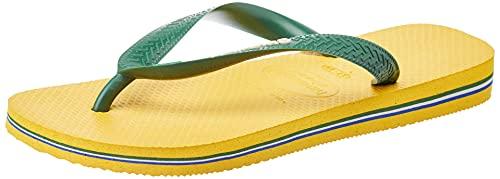 Havaianas Havaianas Brasil Logo, Unisex-Erwachsene Zehentrenner, Gelb (Banana Yellow), 41/42 EU