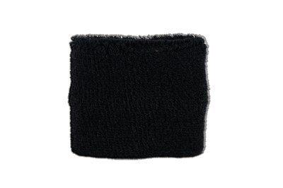 Flaggenfritze® Schweissband Einfarbig Schwarz