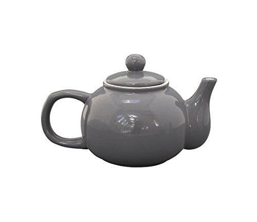 Krasilnikoff - Teekanne - Keramik - Anthrazit - 1100 ml