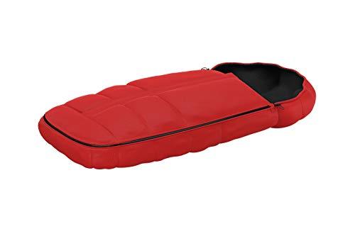 Thule Footmuff red, Isolierter Premium-Fußsack, verstellbare Kapuze