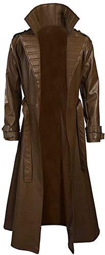 STB-Fashions Gambit Channing Tatum - Abrigo marrón