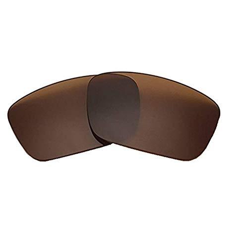 AOKELIS Polarisierte Ersatzgläser für Oakley Fuel Cell (Braun)
