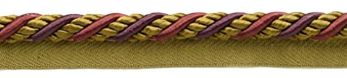 Large 10mm Black Cherry Red, Camel Beige, Purple Basic Trim Cord With Sewing Lip|Style# 0038AXL|Color: Cerise - LX09|Sold by the Yard (91cm / 3 Ft / 36"|500|113|?|en|2|2afc94818ca9d0a0c902291d6af52ff5|False|UNLIKELY|0.34875616431236267