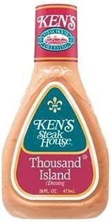 Ken's Steak House Thousand Island Salad Dressing 16 Oz (Pack of 3)