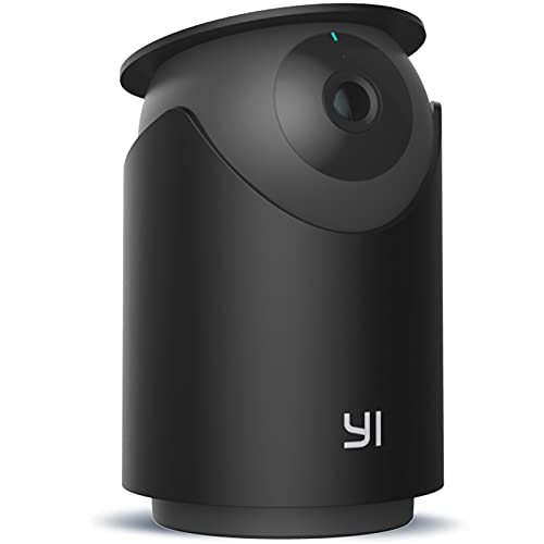YI Camara Vigilancia WiFi Interior Dome U Pro 2K 3MP, Cámara de Seguridad IP 360°, Detección de Movimiento y Sonido, Visión Nocturna, Compatible con iOS/Android, Monitor para Mascotas/Tiendas/Ancianos