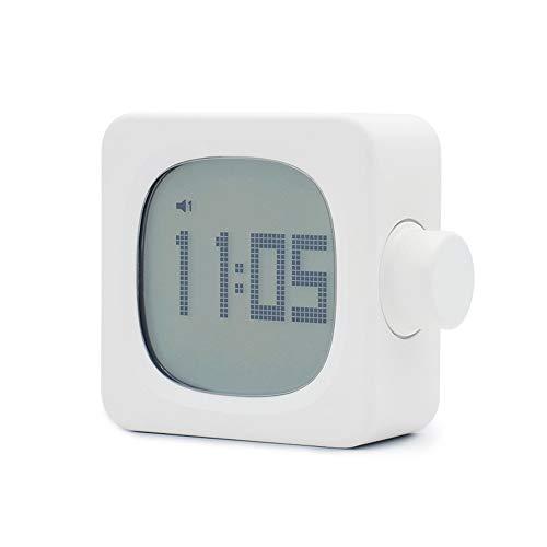 TBYGG digitale wekker voor studenten, snooze-functie, slaaptimer, alarm en licht om te wekken, grote toetsen, oplaadbaar, voor het gebruik van diomestico, multifunctioneel