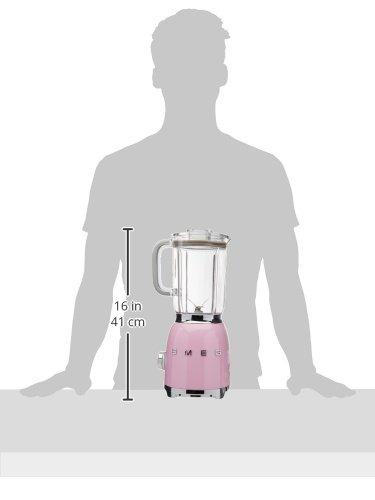 Smeg BLF01PKUS 50s Style Blender, Pink