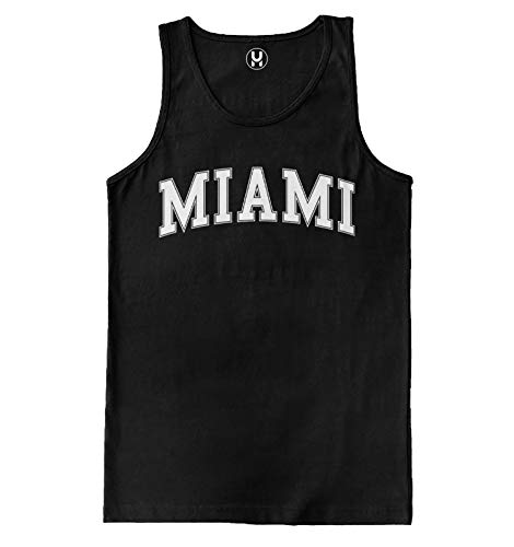 Haase Unlimited Miami - State Proud Strong Men's Tank Top (Black, X-Large)