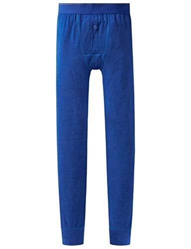 Schiesser Jungen Personal Fit Hose lang Slip, Blau (Royal 819), (Herstellergröße: 140)