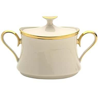 Lenox Eternal Fine China Sugar Bowl with Lid