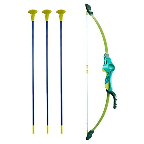 CLISPEED 1 Conjunto de Arco E Flecha Infantil Básico Conjunto de Jogo de Caça Ao Ar Livre Jogo Divertido de Jardim Interno E Externo