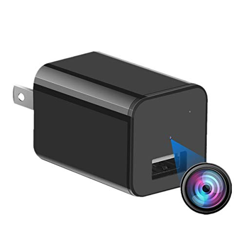 Our #4 Pick is the JRKQDY 1080p Hidden Camera Charger