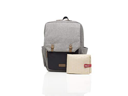 Babymel George Backpack Changing Bag Grey