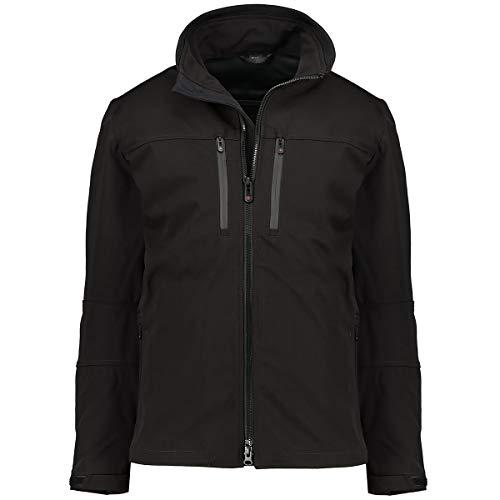 Wellensteyn Alpinieri-Softshell-Jacke schwarz, Gr.XXXXL Herren