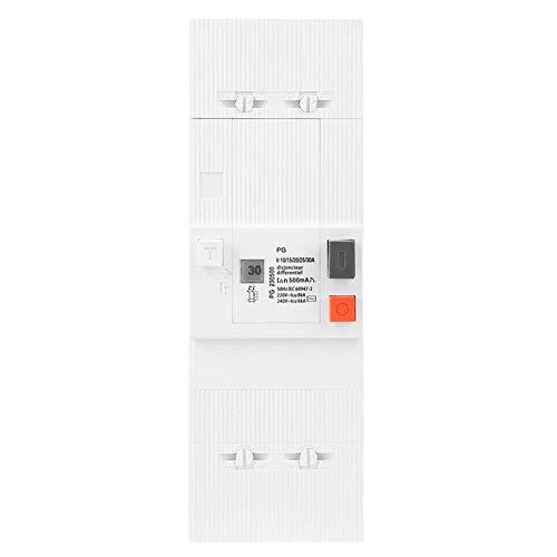ZGQA-GQA Circuit Breaker 2 Polos Protección 10-30A del interruptor neumático del disyuntor de baja tensión de circuito con montaje en carril DIN for la distribución de energía Sistema de Iluminación (