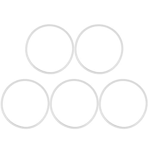 Anillo de silicona para olla a presión, junta de silicona flexible para olla a presión, 5 piezas para tapa de olla a presión para olla a presión(20cm)