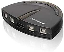 IOGEAR GUB431 4-Port USB 2.0 Automatic Printer Switch, - 480 Mbps Bare Drive