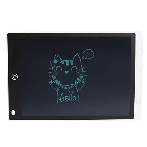 Tablero de dibujo LCD ultra delgado escritura tableta digital gráfico parcialmente borrado de dibujo placa de almohadilla para niños entretenimiento pequeño pizarra pequeña ( Color : 10 inch White )