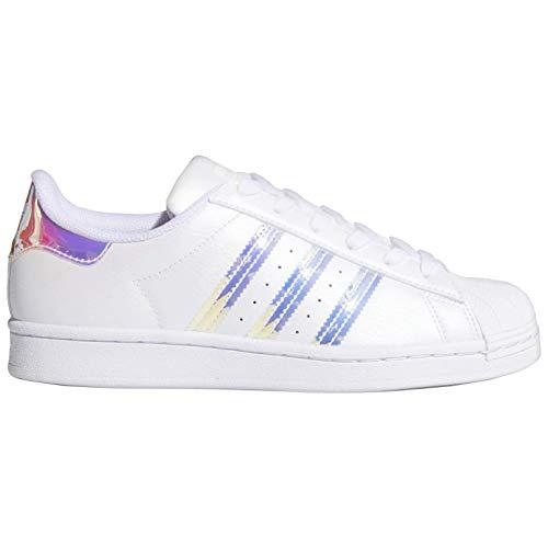 adidas Originals Womens Superstar White/Iridescent