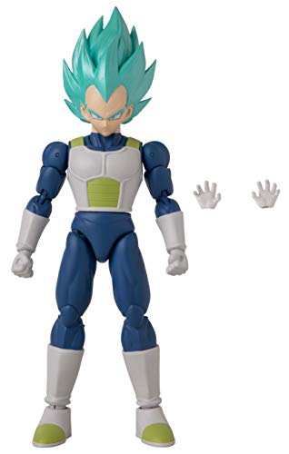 BANDAI Dragon Ball Super - Dragon Stars Super Saiyan Blue Vegeta-Version 2 Figure (Series 16)
