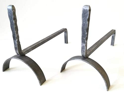 Brucialegna in ferro battuto - Art. 6461 brucialegna per camino - Griglia portalegna per camino - Alari con griglia per camino - Alari da Camino - Braciere brucialegna