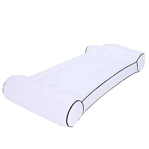 Aiglen Tragbare aufblasbare Matratze im Freien Strand fauler Schlafsack aufblasbares Bett Super leichtes...