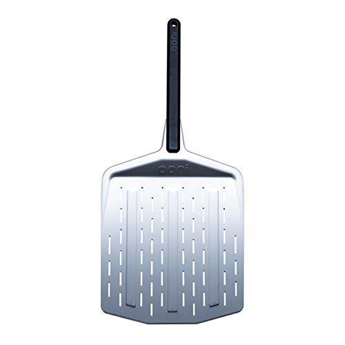 "Ooni 14"" Perforated Pizza Peel, Pizza Paddle, Pizza Oven Accessories, Pizza Peel for Award Winning Pizza Oven"