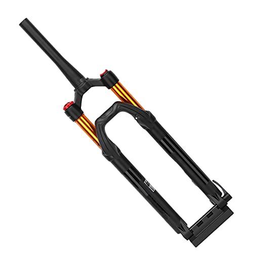 Horquilla de suspensión de bicicleta MTB de 27,5 pulgadas, horquilla delantera de bicicleta de montaña, control de hombro de bicicleta, horquilla delantera de aire para bicicleta de 27,5 pulgadas