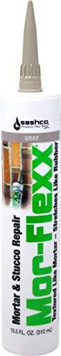Sashco 15020 10.5oz Sashco Sealants Gray MorFlexx Grout Repair, 10.5-Ounce