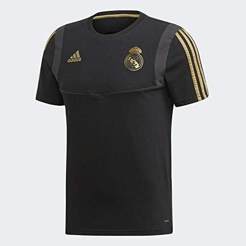 Adidas Camiseta Entrenamiento Real Madrid Negra, Hombre
