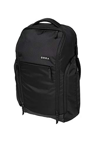 ORRA Eco Travel Backpack Multi-Purpose Sustainable Ergonomic Laptop Storage Bag Business Computer Backpacks For Women Men School Students College All Ages Multipurpose Hiking Daypack