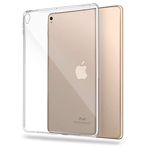 Funda para iPad Air3 10.5'' 2019 o iPad Pro 10.5'' 2017, Asgens Transparente TPU Delgado de Silicona Tablet PC Funda [Shock Absorption] para Apple iPad Air3 10.5'' 2019 o iPad Pro 10.5'' 2017
