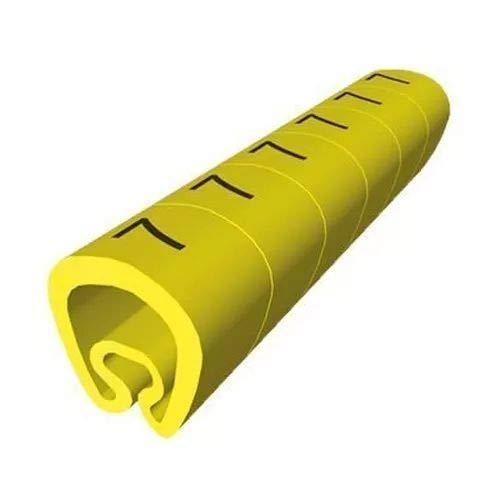 Unex 1811-1 markeerstift voor 2 mm op 5 mm kabel, geel, 1 kaart, 1000 stuks