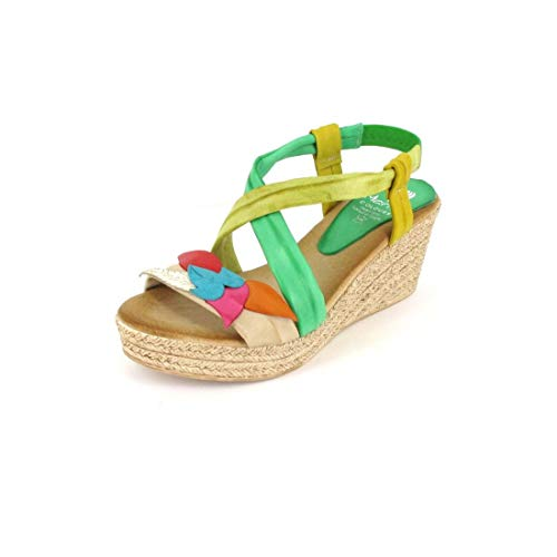 Marila Sandalette CER.Hielo/Multicolor Größe 40, Farbe: CER.Hielo/Multicolor
