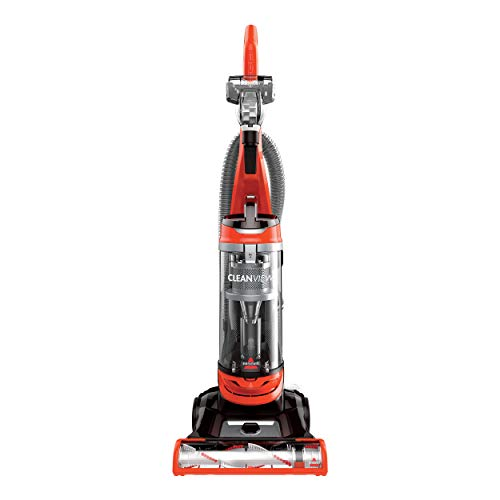 BISSELL Cleanview Bagless Vacuum Cleaner, 2486, Orange