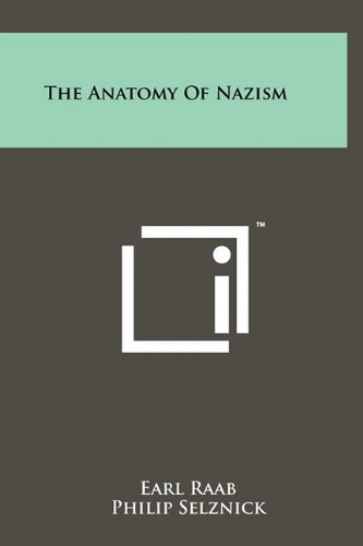 The Anatomy of Nazism