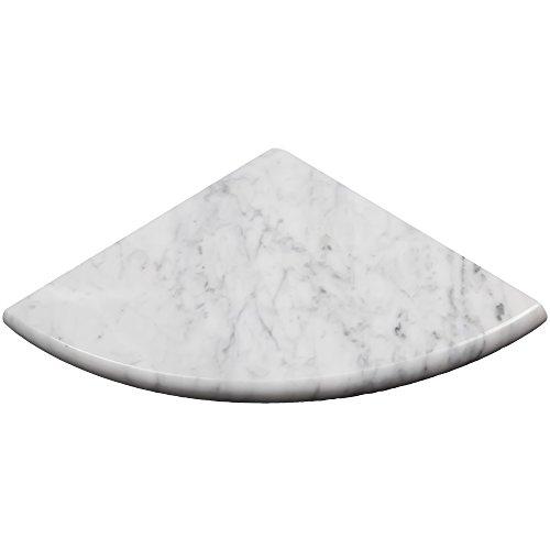 Premium Quality Italian Carrara Marble Corner Shelf Polished (1)