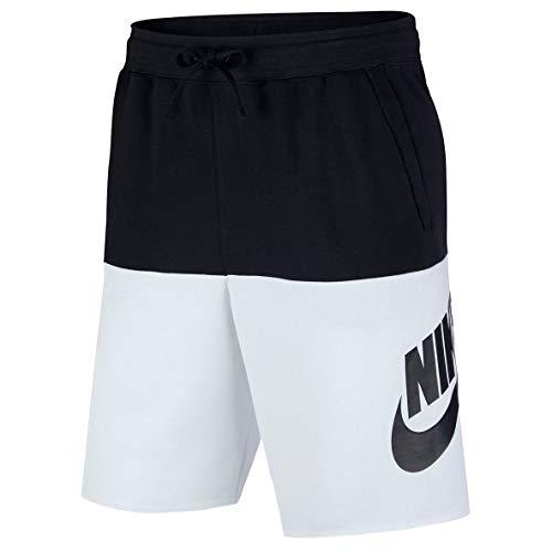 Nike Herren CJ4352-014 Boardshorts, Negro/Blanco, XL