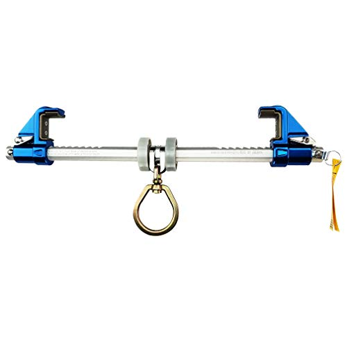 Frontline ST14AH Aluminum Bantam Beamer for 3.5″- 14″ Flange Width I-Beams | 310 lbs Capacity 22kN Breaking Strength | ANSI & OSHA Compliant | Sliding Anchor