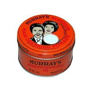 Murray's Superior Hair Dressing Pomade Travel Size (1 1/8 Oz.) by Murray's (English Manual)