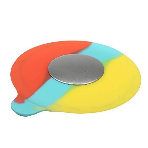 PIJN Bodenablauf Wasser Stopper Stecker Küche Badewanne Spüle Universal-bunter Silikon-Bodenablauf (Color : Multi-Colored, Size : 130x130mm)