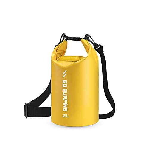 Ruru Bolsa Seca Impermeable Mochila Seca Flotante Bolsa de Playa Saco Seco Liviano para la Playa Paseos en Bote Pesca Kayak Natación Rafting Camping2L/5L/10L/20L/30L/40L