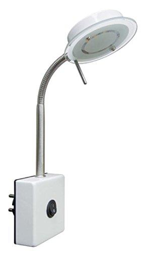 Trango LED enchufe de la luz Lámpara de pared TG2604 lámpara de la cocina Lámpara de luz nocturna 3000K blanco cálido directamente 230V