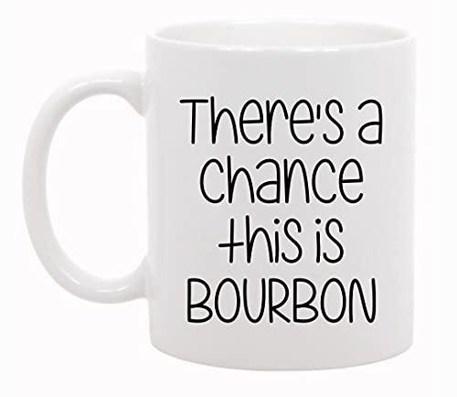 N\A Existe la Posibilidad de Que Esto Sea Bourbon - Tazas de café o té de 11 oz