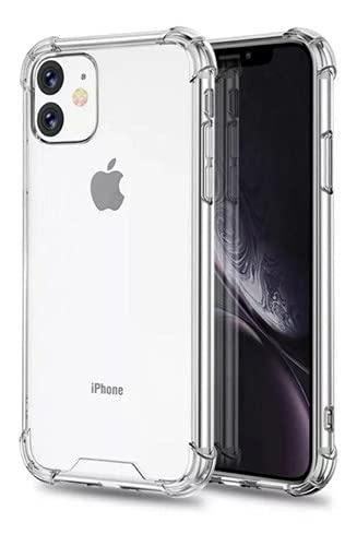 Capa Case Anti Shock + Pelicula Vidro 3d iPhone 11 Tela 6.1 - (C7COMPANY)