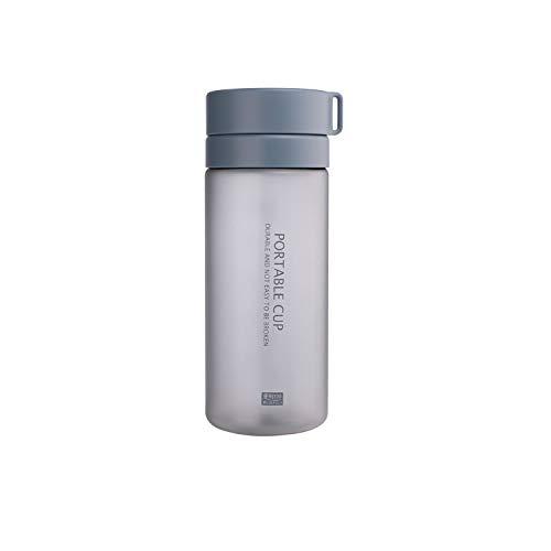 YOUSHANG Water Bottle, 800 ml, Wrist Strap, Waterproof Bottle, Reusable Children's Bottle, Straw