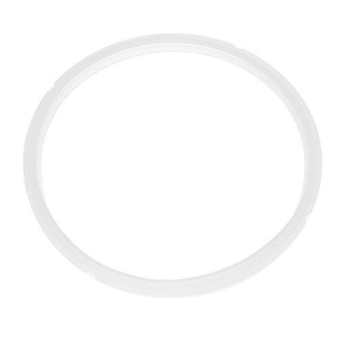 DealMux Rubber 7-8L Elektro-Schnellkochtopf Dichtung klar weiß