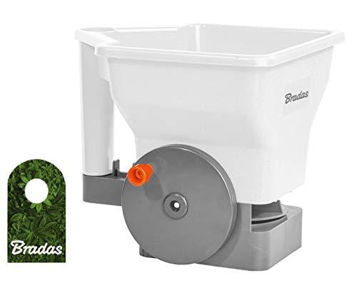Preis-Zone Universal Gartensämaschine Samenschieber 3l White LINE Handsägerät Handsämaschine Sämaschine Bradas 9394