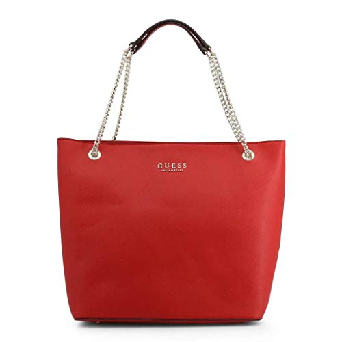 Guess ROBYN EV718023 red rosso borsa shopping bag a spalla pelle...